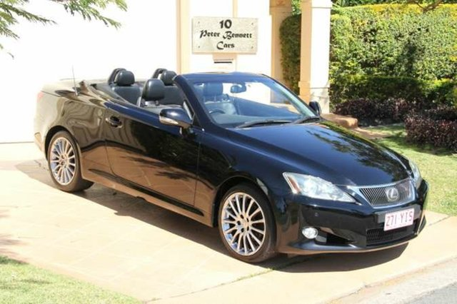 Discounted Used Lexus IS250 C Sports, Bundall, 2009 Lexus IS250 C Sports GSE20R MY10 Convertible