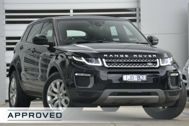 Discounted Demonstrator, Demo, Near New Land Rover Range Rover Evoque TD4 180 SE, Gardenvale, 2017 Land Rover Range Rover Evoque TD4 180 SE Wagon