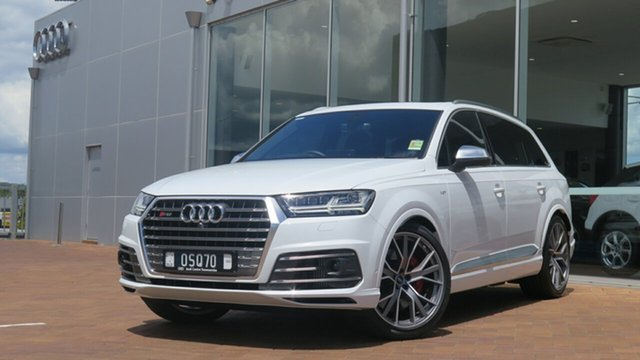 Discounted Demonstrator, Demo, Near New Audi SQ7 4.0 TDI V8 Quattro, Toowoomba, 2017 Audi SQ7 4.0 TDI V8 Quattro Wagon