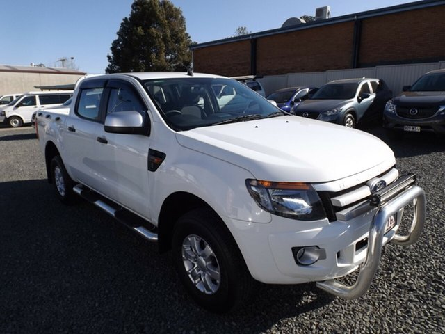 Discounted Used Ford Ranger XLS Double Cab, Toowoomba, 2014 Ford Ranger XLS Double Cab Utility