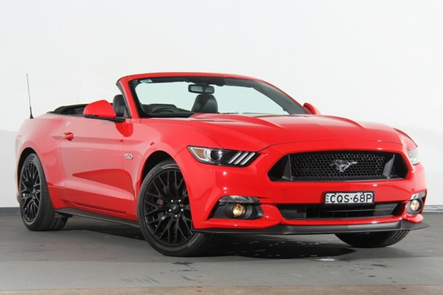 Used Ford Mustang GT SelectShift, Narellan, 2016 Ford Mustang GT SelectShift Convertible