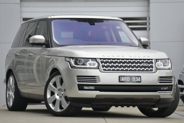 Discounted Demonstrator, Demo, Near New Land Rover Range Rover V8SC Autobiography, Gardenvale, 2017 Land Rover Range Rover V8SC Autobiography Wagon