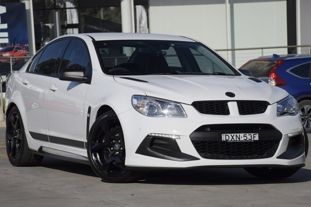 Used Holden Special Vehicles Clubsport R8 SV Black, Narellan, 2016 Holden Special Vehicles Clubsport R8 SV Black Sedan