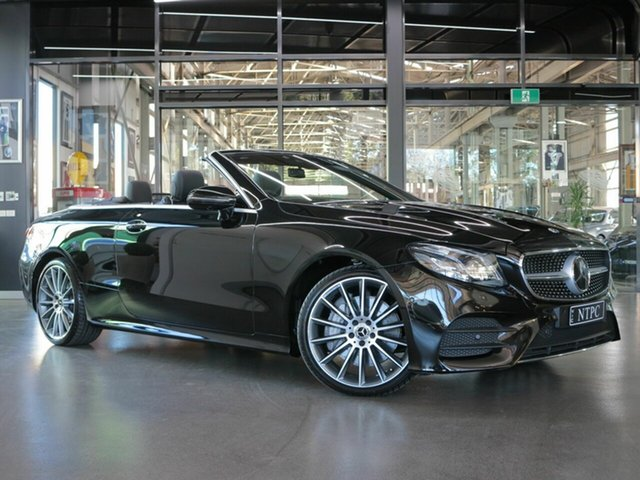 Used Mercedes-Benz E300 9G-Tronic PLUS, North Melbourne, 2017 Mercedes-Benz E300 9G-Tronic PLUS Cabriolet