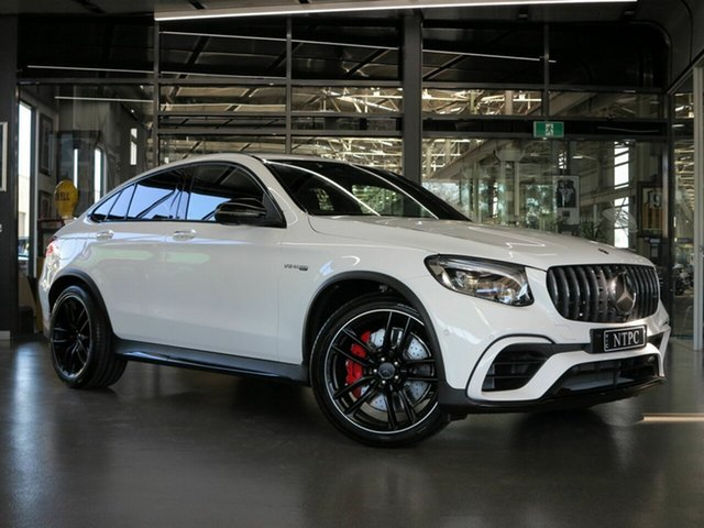 Used Mercedes-Benz GLC63 AMG Coupe SPEEDSHIFT MCT 4MATIC+ S, North Melbourne, 2018 Mercedes-Benz GLC63 AMG Coupe SPEEDSHIFT MCT 4MATIC+ S Wagon