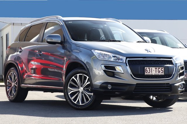 Used Peugeot 4008 Active 2WD, Bowen Hills, 2012 Peugeot 4008 Active 2WD Wagon