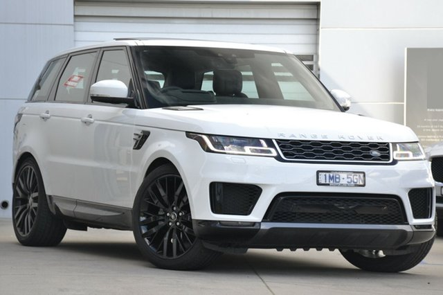 Discounted Demonstrator, Demo, Near New Land Rover Range Rover Sport SDV6 CommandShift HSE, Gardenvale, 2017 Land Rover Range Rover Sport SDV6 CommandShift HSE Wagon