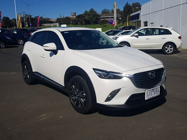 Used Mazda CX-3 Akari SKYACTIV-Drive, Warrnambool East, 2017 Mazda CX-3 Akari SKYACTIV-Drive Wagon