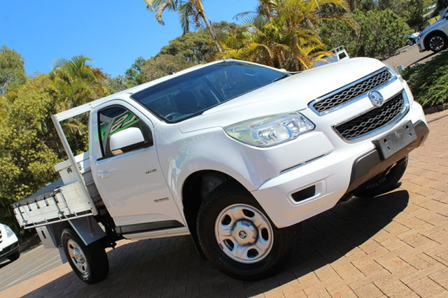 Used Holden Colorado LX 4x2, Bokarina, 2013 Holden Colorado LX 4x2 RG MY13 Cab Chassis