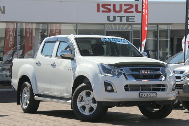 Discounted Demonstrator, Demo, Near New Isuzu D-MAX LS-U Crew Cab High Ride, Southport, 2017 Isuzu D-MAX LS-U Crew Cab High Ride Utility