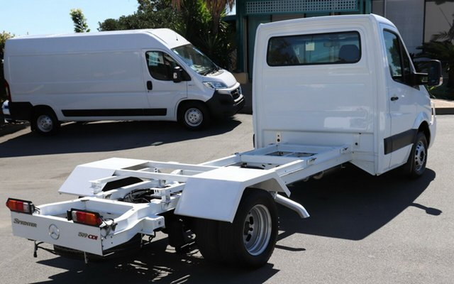 Discounted Used Mercedes-Benz Sprinter 519CDI LWB, Acacia Ridge, 2011 Mercedes-Benz Sprinter 519CDI LWB NCV3 MY11 Cab Chassis