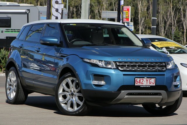 Used Land Rover Range Rover Evoque TD4 CommandShift Pure, Caloundra, 2013 Land Rover Range Rover Evoque TD4 CommandShift Pure Wagon
