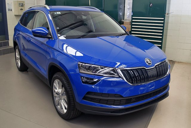 Demonstrator, Demo, Near New Skoda Karoq 110TSI DSG FWD, Southport, 2018 Skoda Karoq 110TSI DSG FWD Wagon