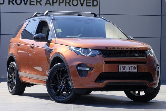 Demonstrator, Demo, Near New Land Rover Discovery Sport TD4 110kW HSE, Newstead, 2018 Land Rover Discovery Sport TD4 110kW HSE Wagon