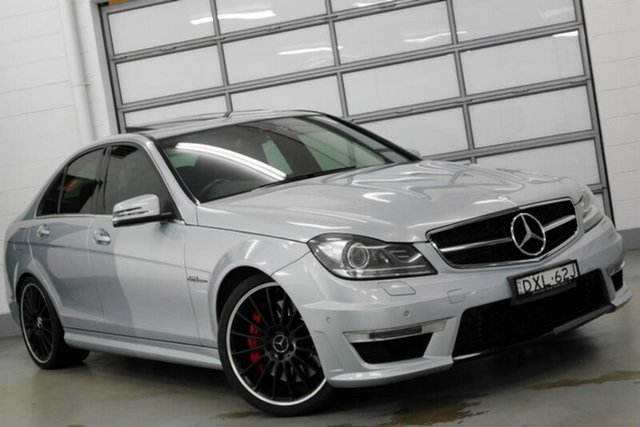 Used Mercedes-Benz C63 AMG SPEEDSHIFT MCT Performance Package Plus, Southport, 2013 Mercedes-Benz C63 AMG SPEEDSHIFT MCT Performance Package Plus Sedan