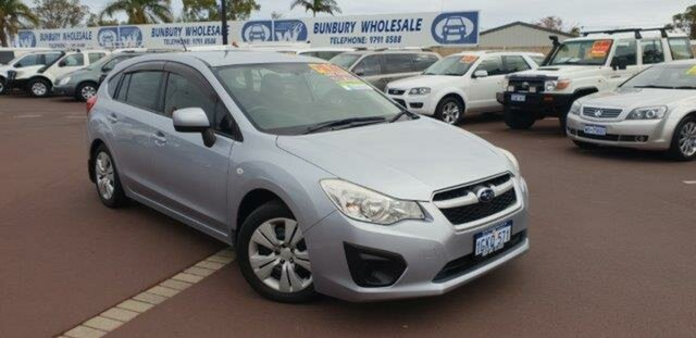 Discounted Used Subaru Impreza 2.0i AWD, East Bunbury, 2012 Subaru Impreza 2.0i AWD Hatchback