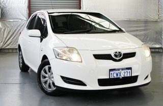 2008 Toyota Corolla Ascent Hatchback.