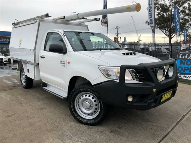 Used Toyota Hilux SR, Mulgrave, 2014 Toyota Hilux SR Cab Chassis