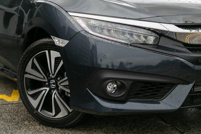 Demonstrator, Demo, Near New Honda Civic VTI-LX, Oakleigh, 2017 Honda Civic VTI-LX MY17 Sedan