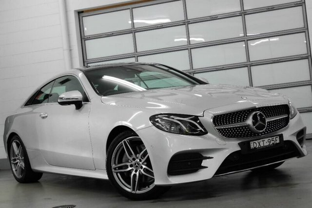 Used Mercedes-Benz E220 d 9G-TRONIC PLUS, Southport, 2017 Mercedes-Benz E220 d 9G-TRONIC PLUS Coupe
