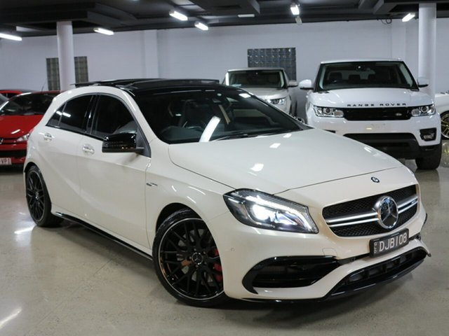 Used Mercedes-Benz A45 AMG SPEEDSHIFT DCT 4MATIC, Albion, 2017 Mercedes-Benz A45 AMG SPEEDSHIFT DCT 4MATIC Hatchback