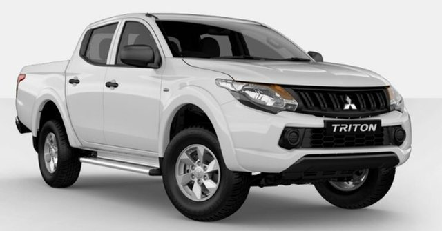 Demonstrator, Demo, Near New Mitsubishi Triton GLX+ Double Cab, Atherton, 2018 Mitsubishi Triton GLX+ Double Cab Utility