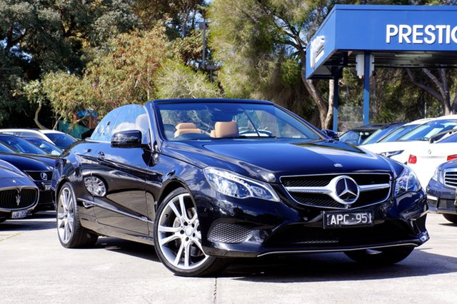 Used Mercedes-Benz E400 7G-Tronic +, Balwyn, 2013 Mercedes-Benz E400 7G-Tronic + Cabriolet