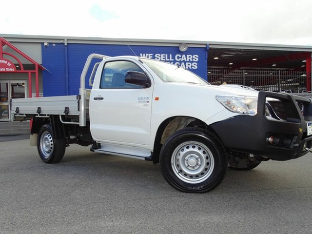 Discounted Used Toyota Hilux SR, Welshpool, 2014 Toyota Hilux SR Cab Chassis