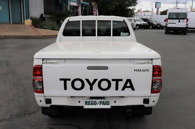 Discounted Used Toyota Hilux SR Double Cab, Acacia Ridge, 2013 Toyota Hilux SR Double Cab KUN26R MY12 Utility