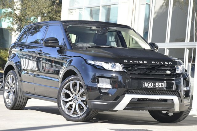 Used Land Rover Range Rover Evoque, Port Melbourne, 2015 Land Rover Range Rover Evoque Wagon