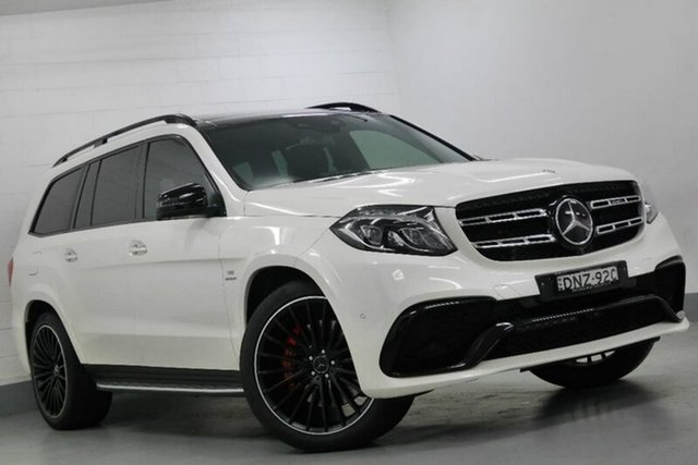 Used Mercedes-Benz GLS63 AMG SPEEDSHIFT PLUS 4MATIC, Southport, 2017 Mercedes-Benz GLS63 AMG SPEEDSHIFT PLUS 4MATIC Wagon