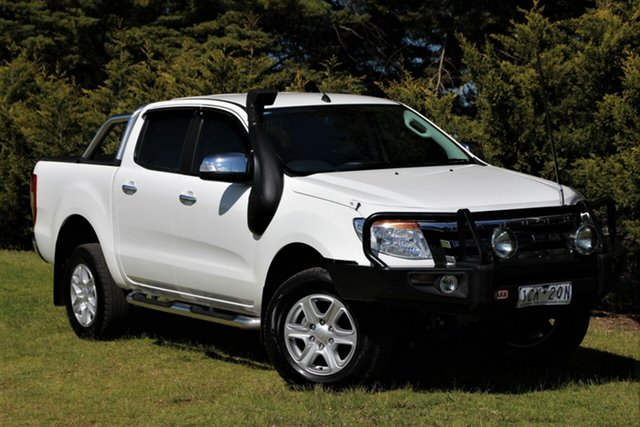 Used Ford Ranger XLT Double Cab 4x2 Hi-Rider, Officer, 2014 Ford Ranger XLT Double Cab 4x2 Hi-Rider Utility