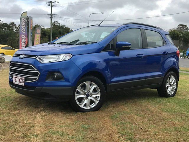 Used Ford Ecosport Trend PwrShift, Gympie, 2015 Ford Ecosport Trend PwrShift Wagon