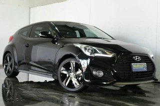 2012 Hyundai Veloster SR Coupe Turbo Hatchback.