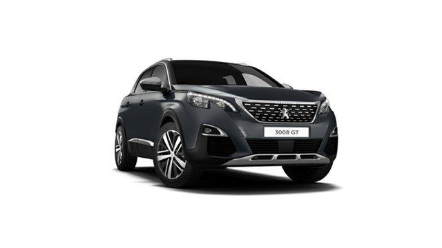 Demonstrator, Demo, Near New Peugeot 3008 GT SUV, Nambour, 2018 Peugeot 3008 GT SUV P84 MY18 Hatchback