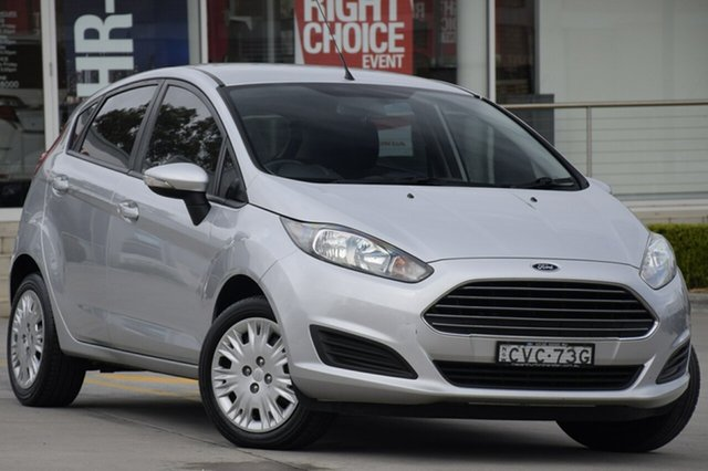 Used Ford Fiesta Ambiente PwrShift, Narellan, 2014 Ford Fiesta Ambiente PwrShift Hatchback