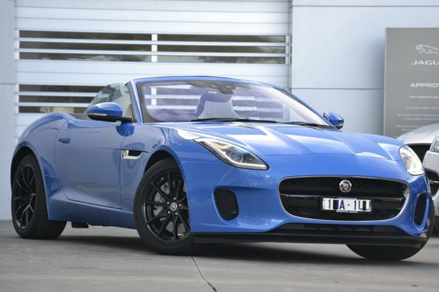 Discounted Demonstrator, Demo, Near New Jaguar F-TYPE 221kW Quickshift RWD, Gardenvale, 2017 Jaguar F-TYPE 221kW Quickshift RWD Convertible