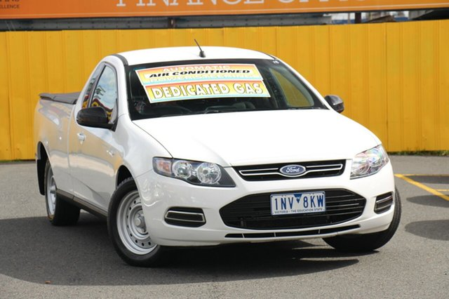 Discounted Used Ford Falcon EcoLPi Super Cab, Cheltenham, 2013 Ford Falcon EcoLPi Super Cab Cab Chassis