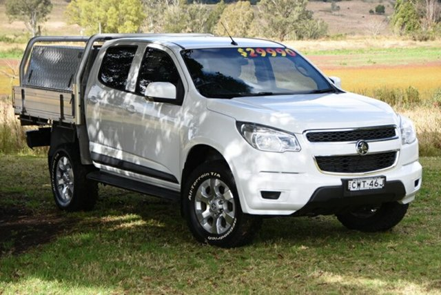 Used Holden Colorado LS Crew Cab, Southport, 2014 Holden Colorado LS Crew Cab Cab Chassis