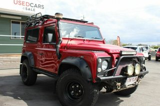 2011 Land Rover Defender Wagon.
