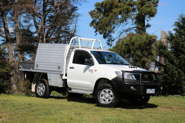 Used Toyota Hilux SR, Officer, 2012 Toyota Hilux SR Cab Chassis