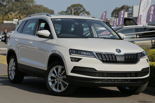Discounted Demonstrator, Demo, Near New Skoda Karoq 110TSI DSG FWD, Narellan, 2018 Skoda Karoq 110TSI DSG FWD Wagon