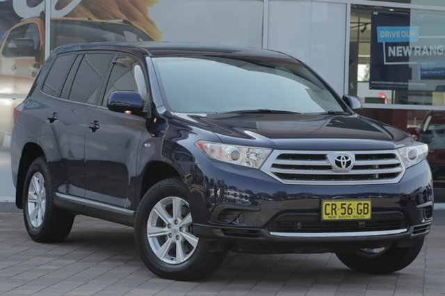 Discounted Used Toyota Kluger KX-R 2WD, Southport, 2012 Toyota Kluger KX-R 2WD SUV