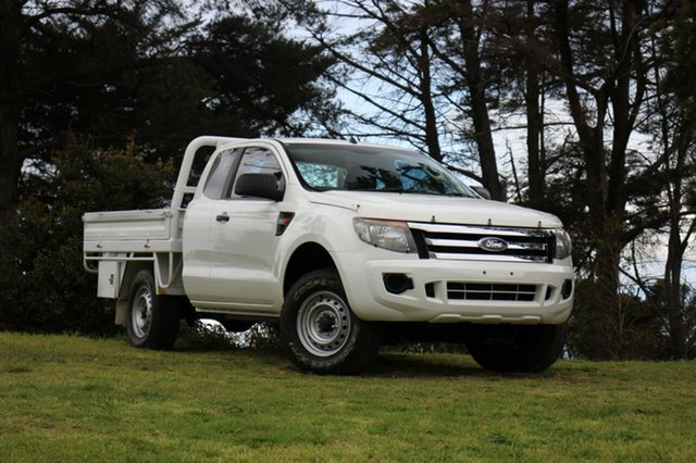 Used Ford Ranger XL Super Cab, Officer, 2014 Ford Ranger XL Super Cab Cab Chassis