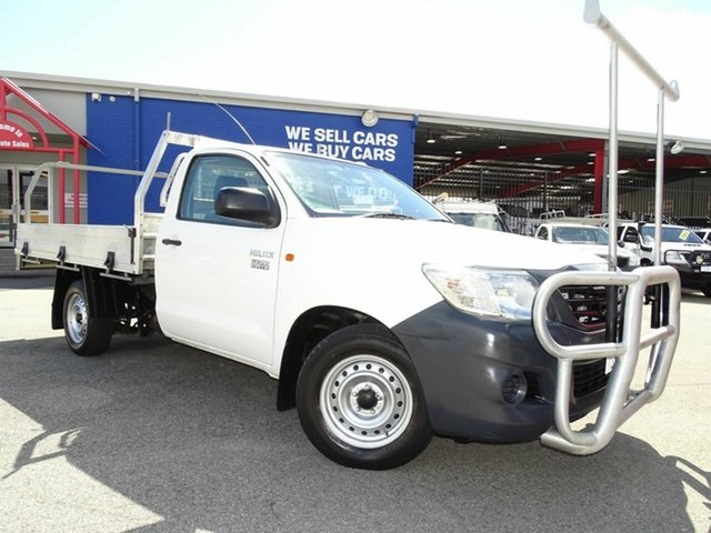 Used Toyota Hilux Workmate 4x2, Welshpool, 2013 Toyota Hilux Workmate 4x2 Cab Chassis