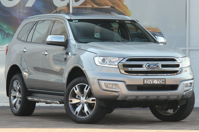 Discounted Used Ford Everest Titanium, Southport, 2017 Ford Everest Titanium SUV