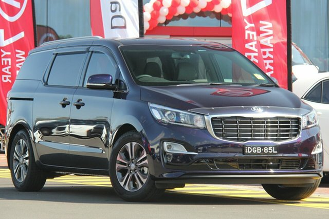 Demonstrator, Demo, Near New Kia Carnival SLi, Warwick Farm, 2018 Kia Carnival SLi Wagon