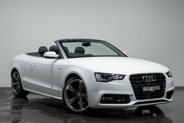 Used Audi A5 S tronic quattro, Rozelle, 2013 Audi A5 S tronic quattro Cabriolet