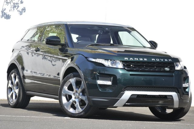 Used Land Rover Range Rover Evoque TD4 Coupe Pure Tech, Malvern, 2014 Land Rover Range Rover Evoque TD4 Coupe Pure Tech Wagon