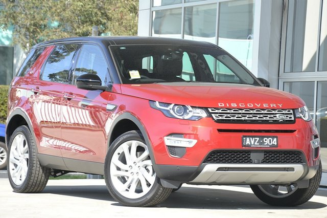Demonstrator, Demo, Near New Land Rover Discovery Sport TD4 HSE Luxury, Port Melbourne, 2018 Land Rover Discovery Sport TD4 HSE Luxury Wagon